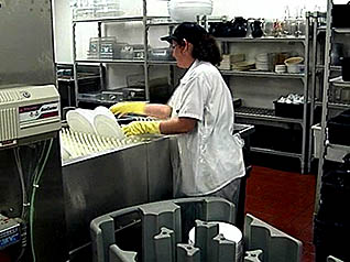 a superior cleaner restaurant from kitchen to dining area dish washing - Restaurant Cleaner